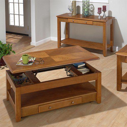 Jofran Lift Top Coffee Table Oak 335 5 Hayneedle