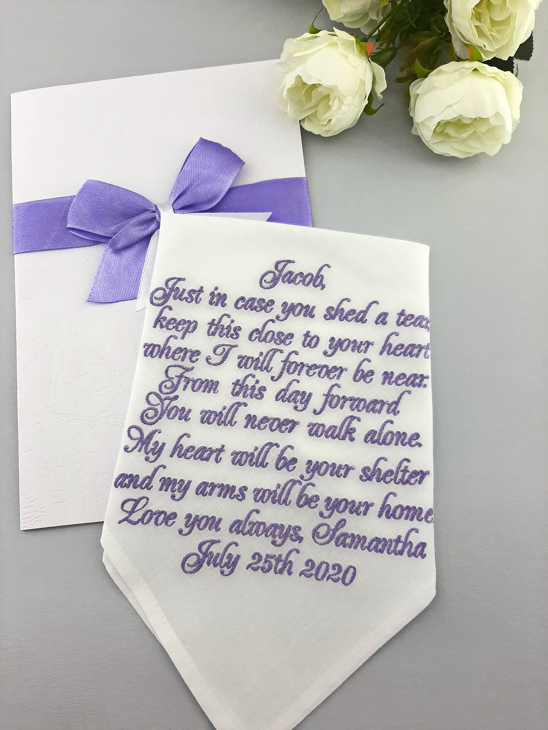Groom gift from bride fiance gift for him future husband