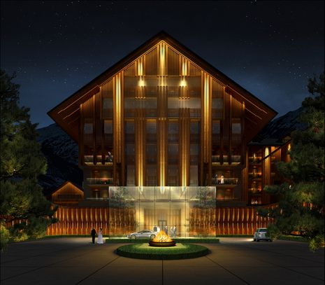 "The Chedi: five-star hotel in the ""Andermatt Swiss Alps"" will open its doors in autumn 2013"