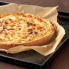 Räucherspeck-Käse-Torte