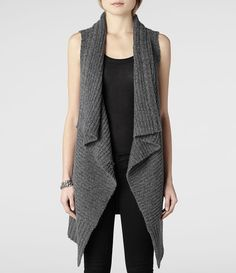 knitted sleeveless cardigan - Поиск в Google | knit | Pinterest ...