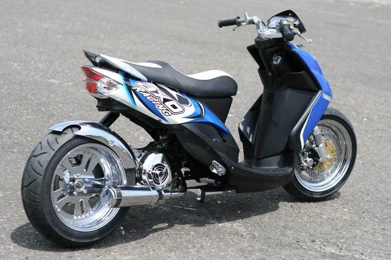Modifikasi Motor Matic Scooter Custom Custom Chopper Custom Bikes