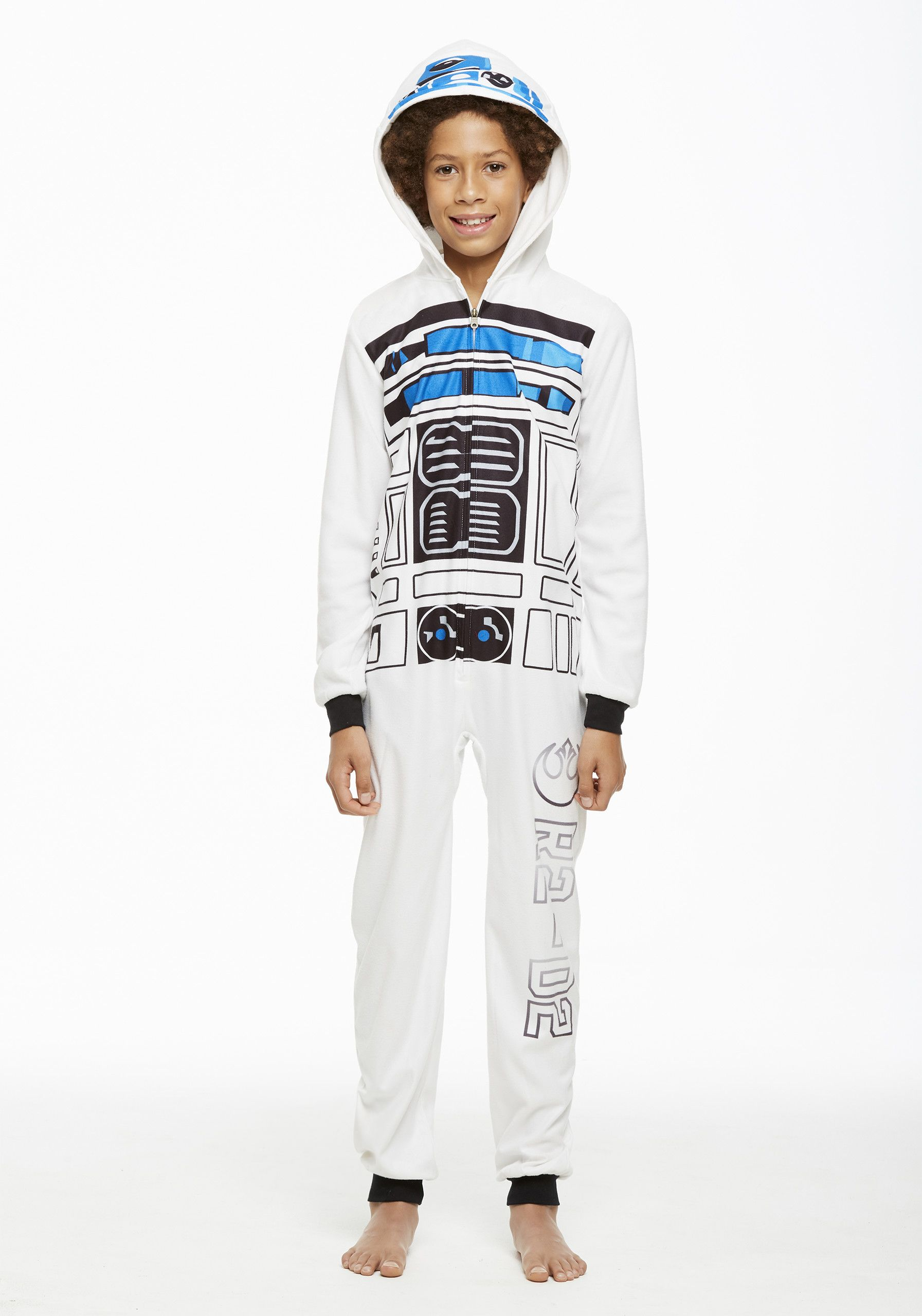 Jammin  Jammies Pajamas Unisex Kids Star Wars R2D2 Onesie With Pillow Case.  Size XS dde324fec