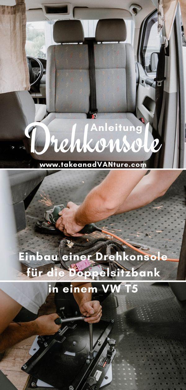 Photo of Einbau einer Drehkonsole für die Doppelsitzbank im VW T5 // take an adVANture