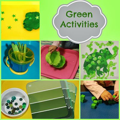 tot school green activities toddler color green tot school preschool colors tot trays. Black Bedroom Furniture Sets. Home Design Ideas