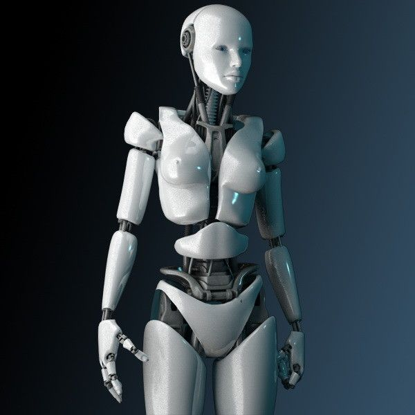 Видео секса с роботом ваша