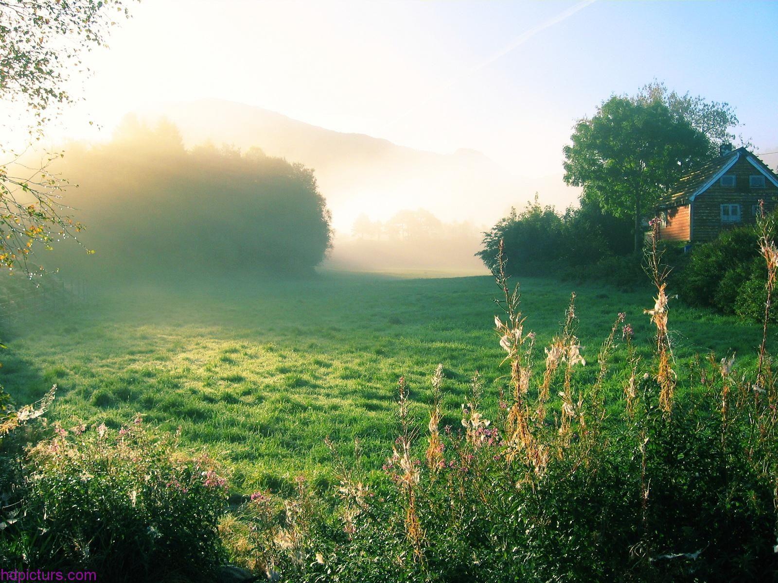 صور الصباح جميلة 2017 صور الصباح منظر جميل عند طلوع الشمس Nature Images Landscape Foggy Morning