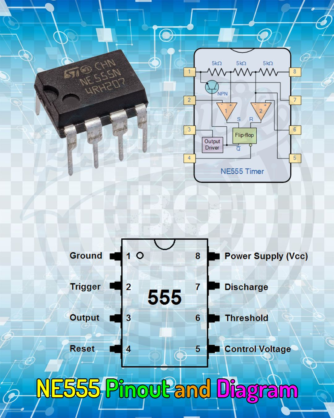 small resolution of ne555 pinout and diagram