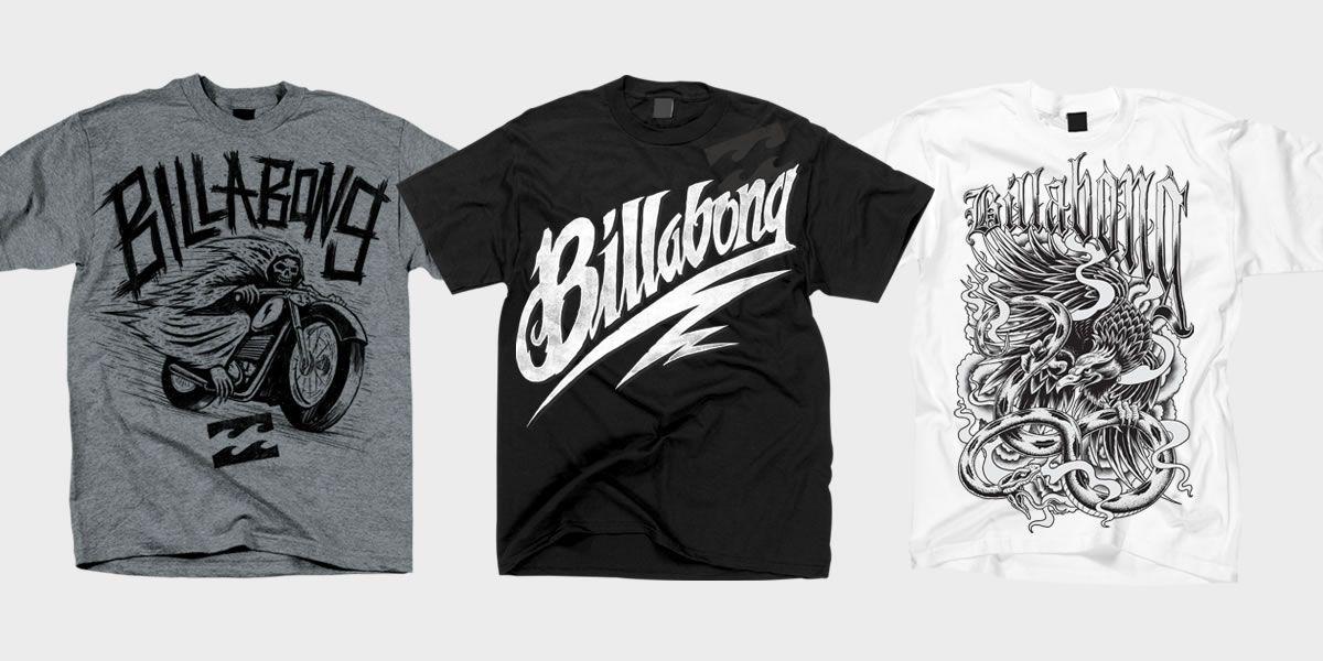 a1c7b07271 Billabong: Billabong T-shirt Design | Biker Tees | Shirt designs ...