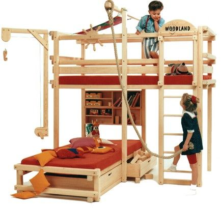 Woodland Letti A Castello.Letto A Castello Bunk Beds With Stairs Kid Beds