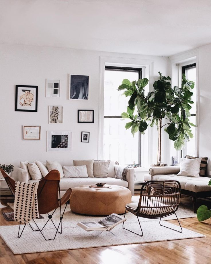 Cozy And Modern Living Space Livingroom Modern Cozy Leatherpouf Cozy Living Room Design Living Room Trends Home Decor