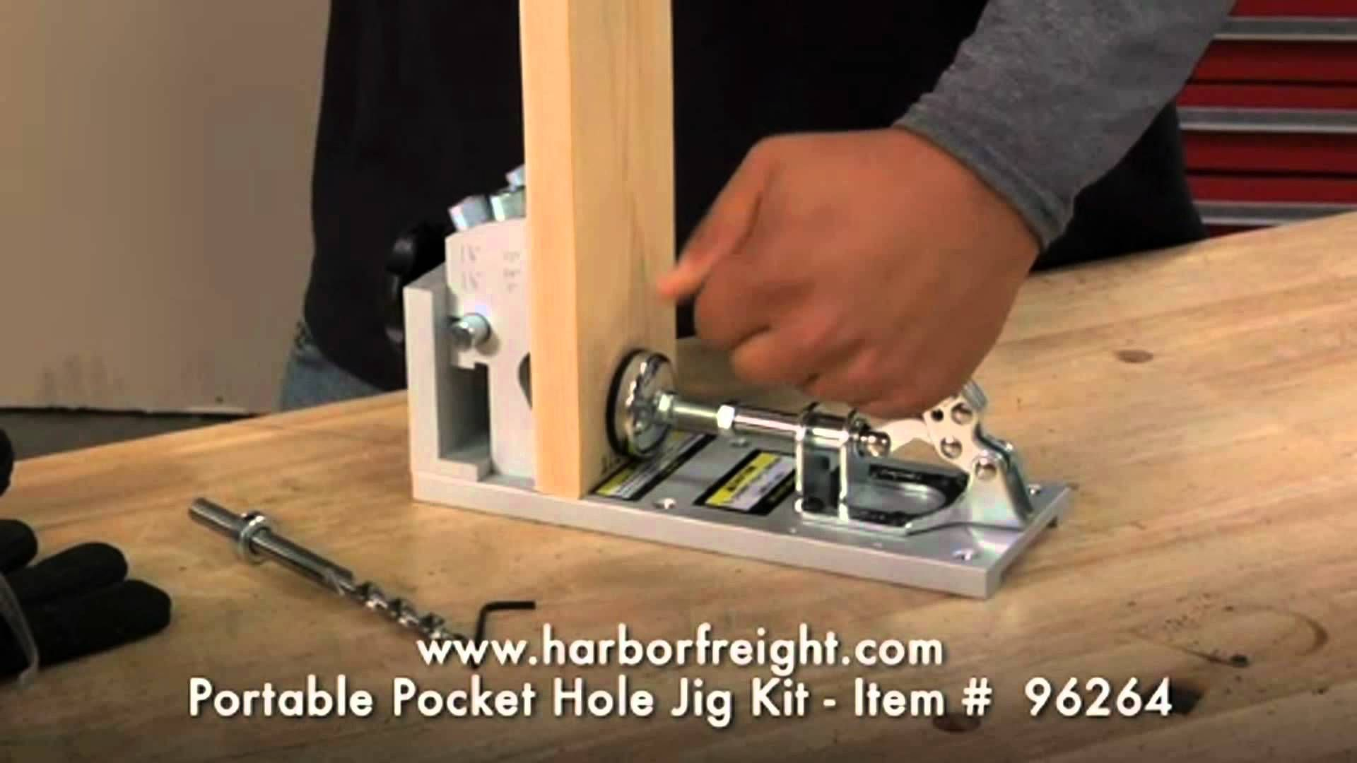 Portable Pocket Hole Jig Kit #96264   Jigs   Pinterest