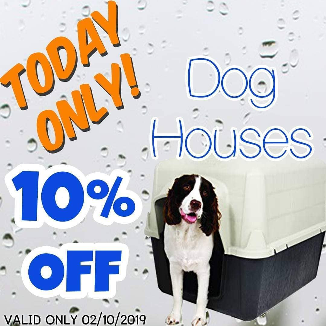 Today Only Get 10 Off Any Dog House Keep Your Fur Babies Warm