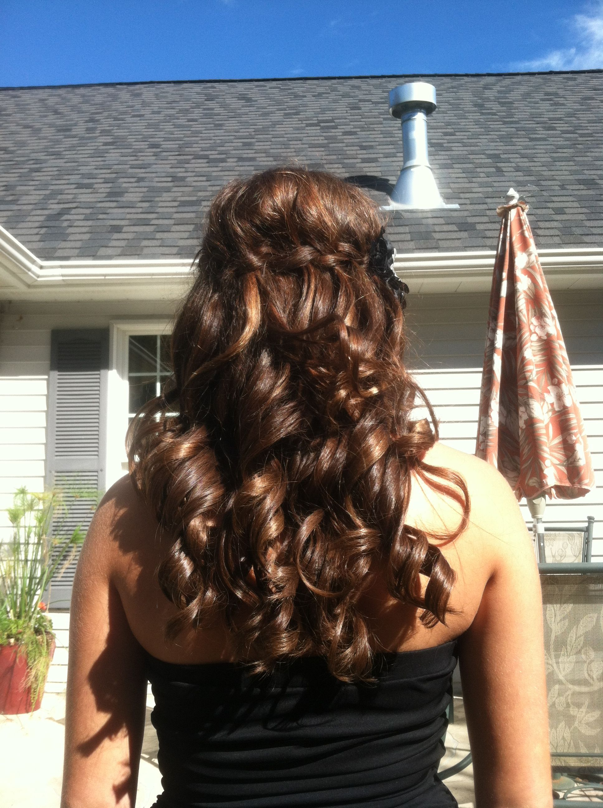 hair styles for a bride cool hair style for homecoming s stuff 9798 | b71b56ad766a694a76ec61915f9798d6