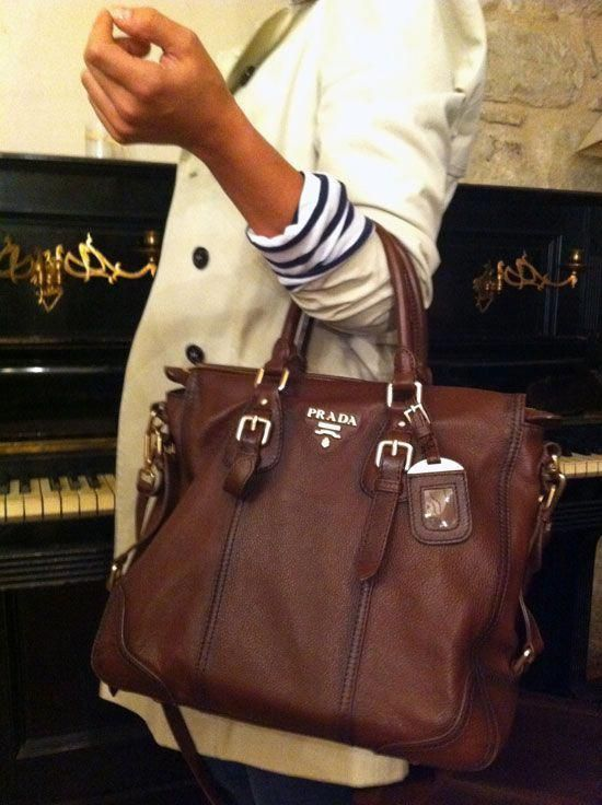 Photo of Glace Calf Twin Tote