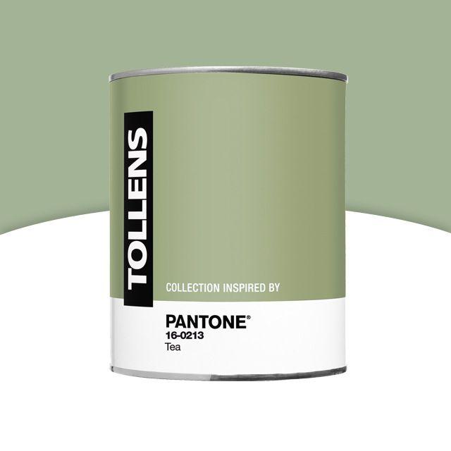 Peinture Murs Et Boiseries PANTONE 16 0213 Tea Satin 1L | Castorama