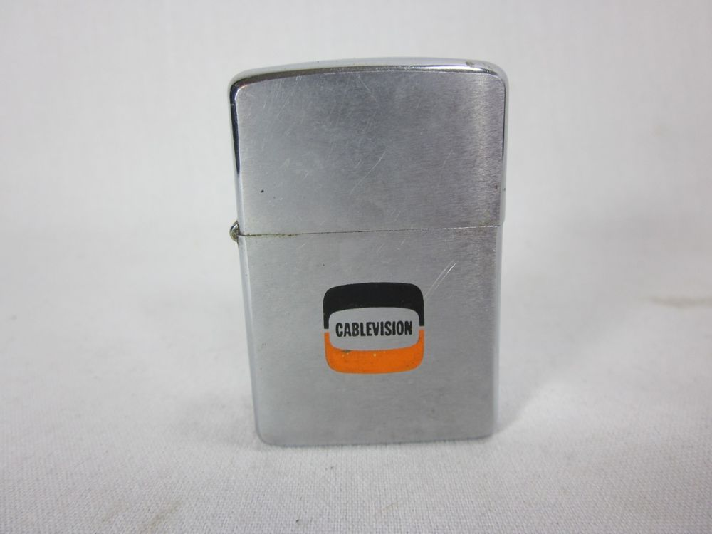 Zippo Canada Cablevision Advertising Lighter Vintage Zippo Zippo Canada Zippo Lighter