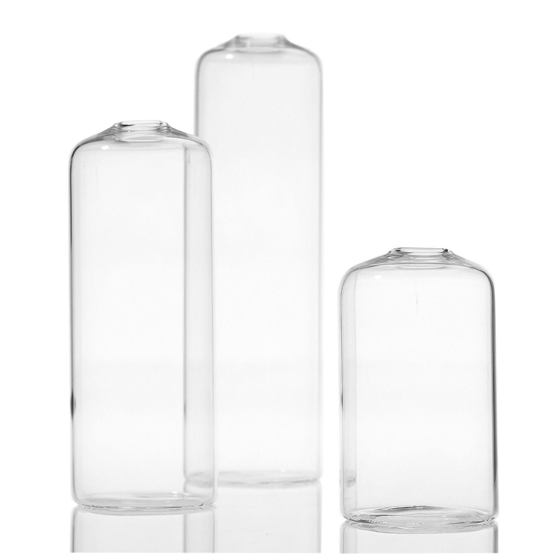 Modern Clear Glass Bud Vase Set Of 3 Bud Vases Vase Ceramic Bottle