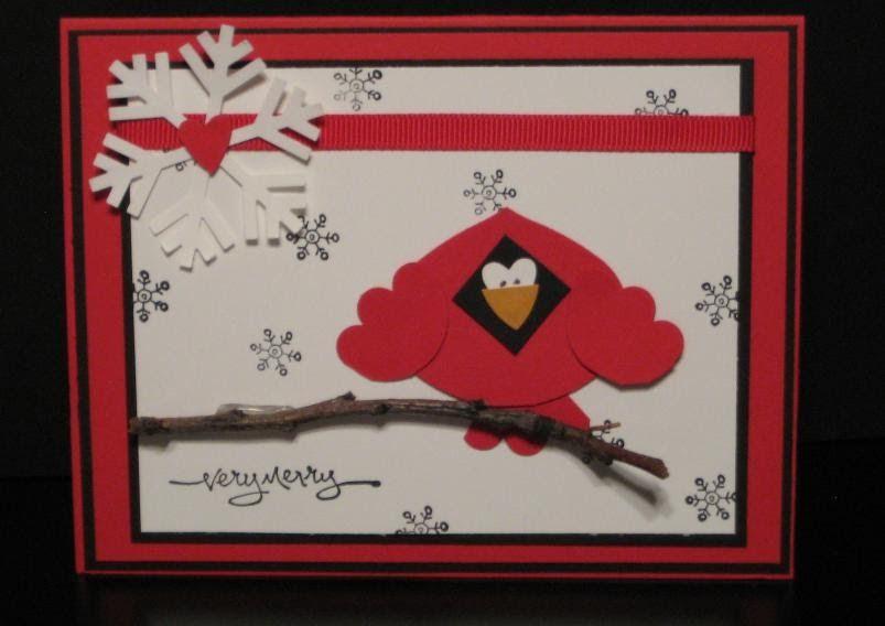 Blinkin', Thinkin', & Inkin': Cartoony Cardinal