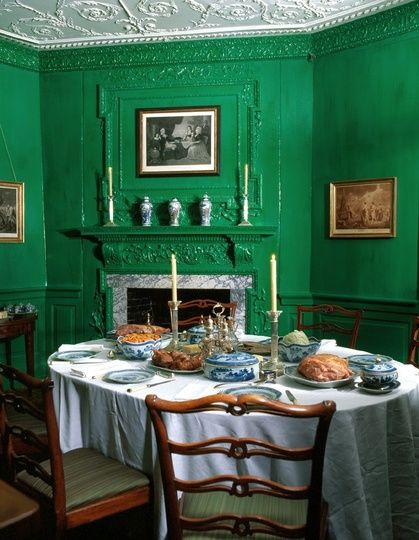 historic colors of the mount vernon estate — colortherapy | mount