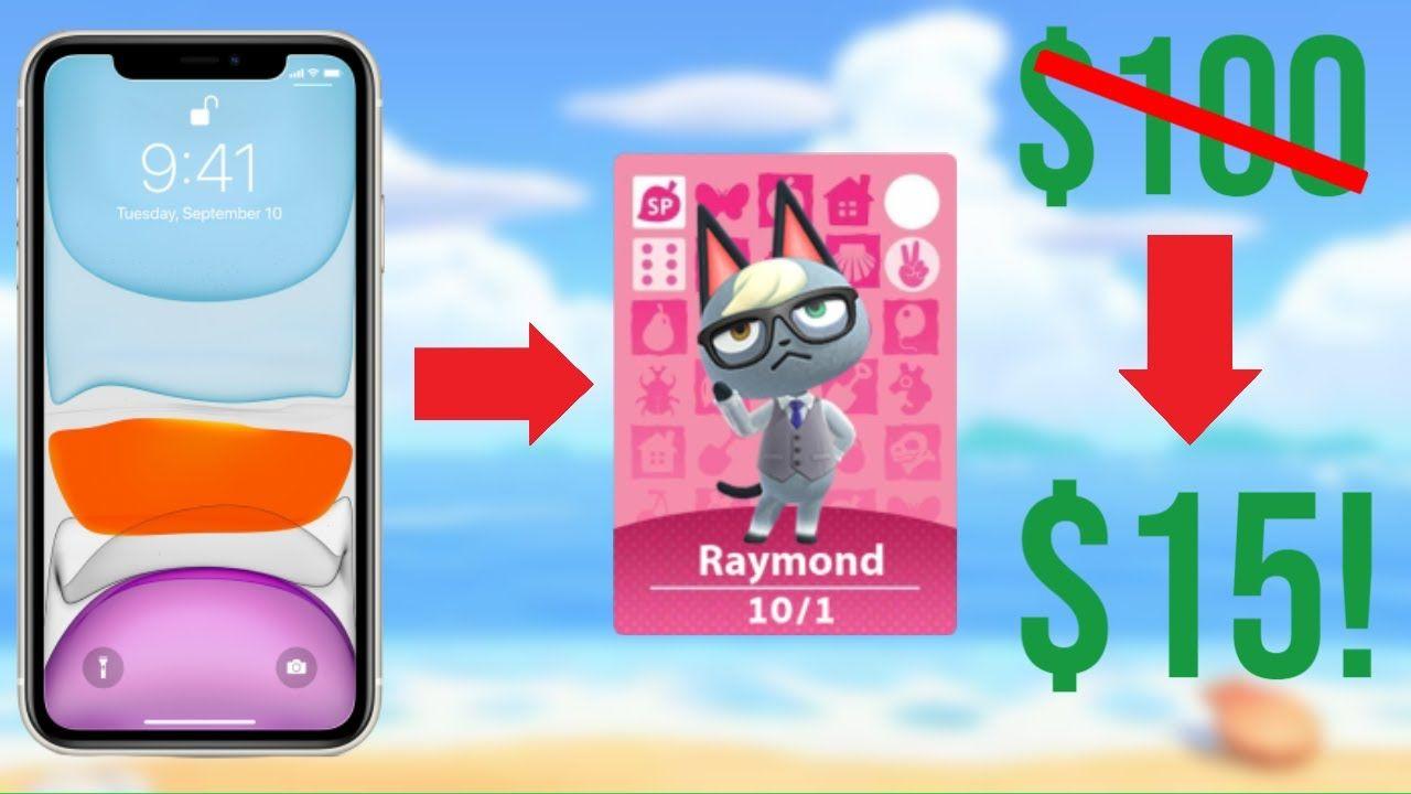 How To Make Amiibo On Iphone Iphone Amiibo Cards For Animal Crossing Animal Crossing Animals Cards