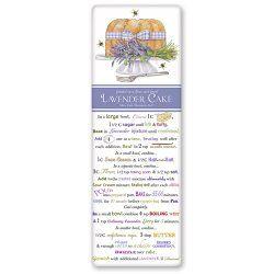 Lavender Cake Recipe Towel