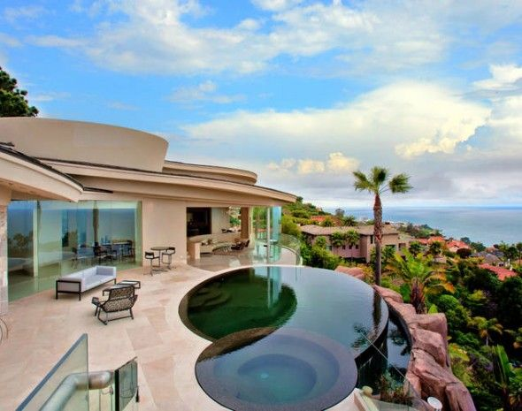 Just Incredible La Jolla Infinity Pool Overlooking Pacific Ocean