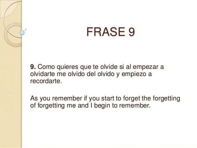 Frases En Ingles Traducidas A Espanol Frases English Frases Y