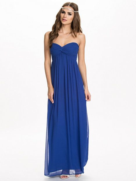 Dreamy Dress - Nly Trend - Blå - Festklänningar - Kläder - Kvinna - Nelly. b151a1fd61916