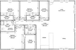 30 x 46 House Plan pole barn home Favorite Places Spaces