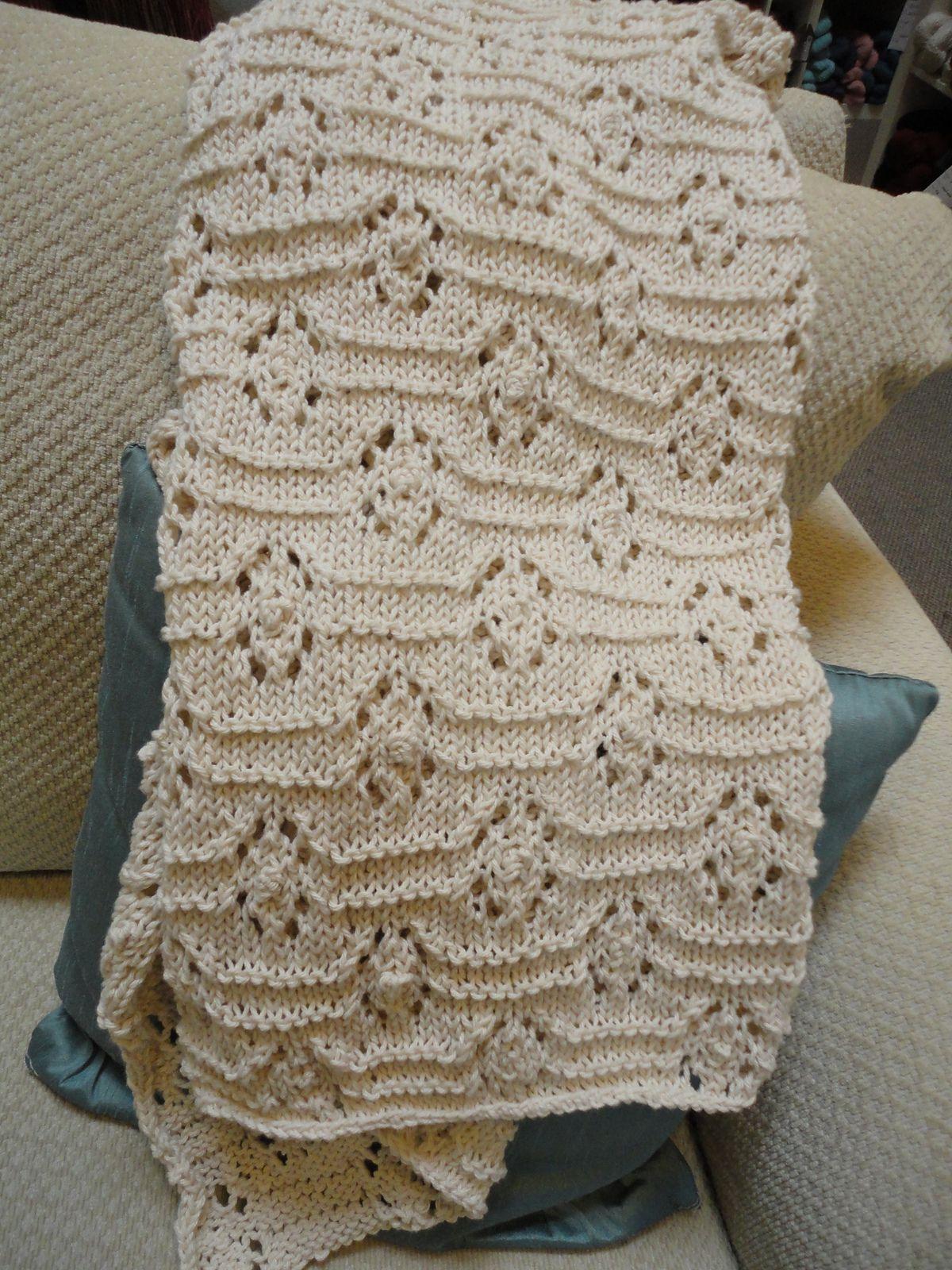 Baby Blanket By Yuko Fredrick - Free Knitted Pattern - (ravelry ...