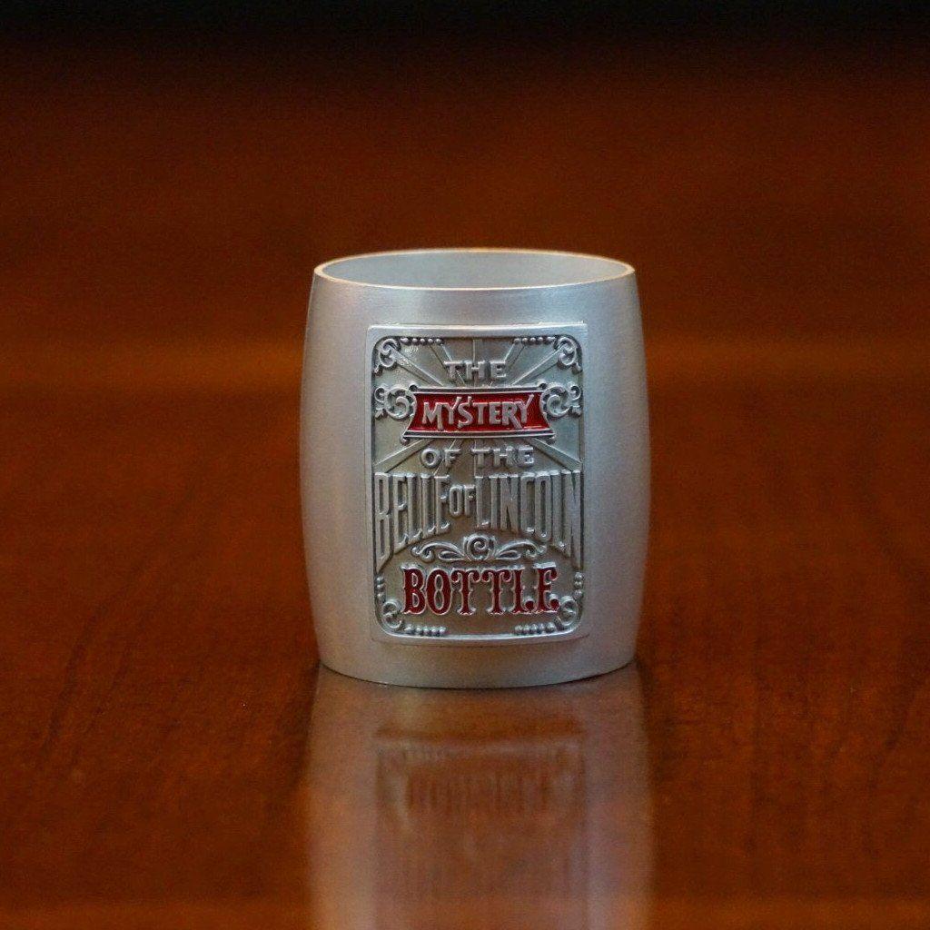 Jack Daniel's Belle of Lincoln Pewter Shot Glass