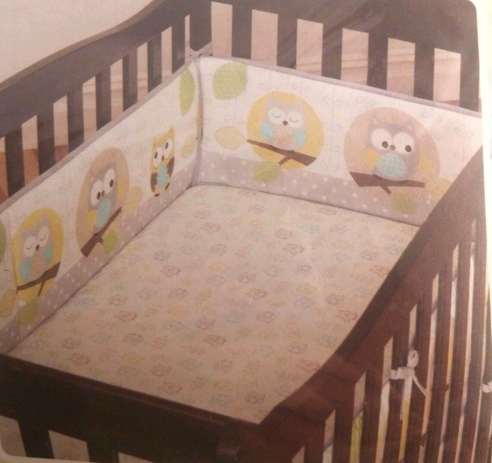cribs pads for clearance decor captivating owl bumper bedding design crib nursery walmart exciting pattern beautiful baby