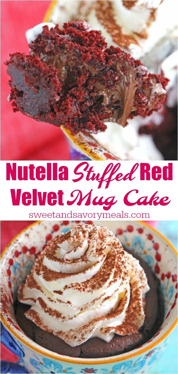 Red Velvet Mug Cake | Recipe | Mug recipes, Cupcake cakes ...