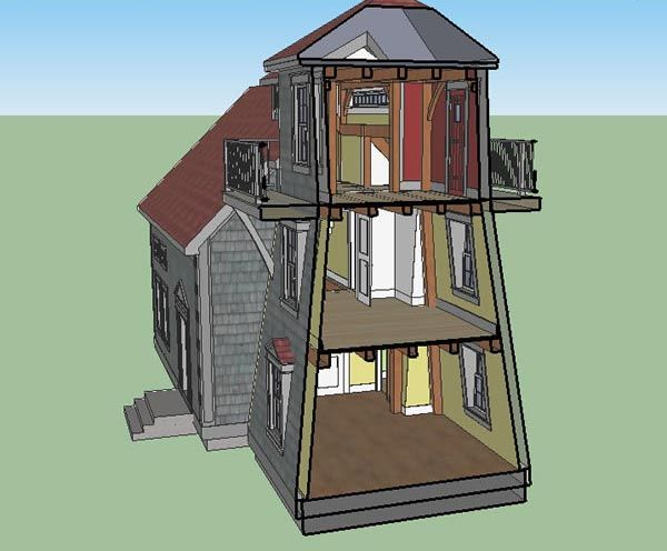 The Lahave Timber Frame House Plan Lighthouse Series