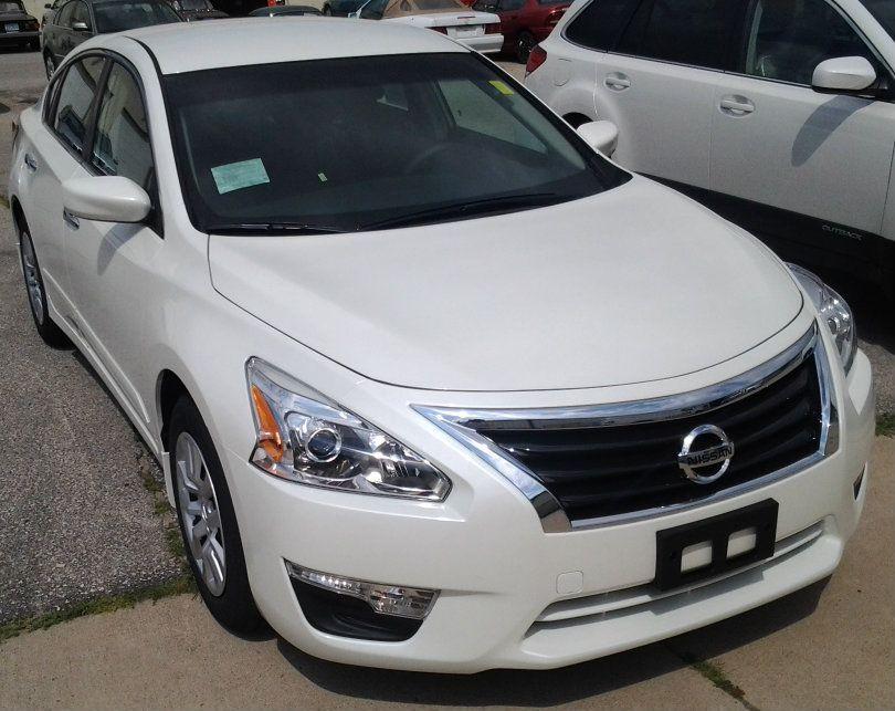 2013 Nissan Altima In Pearl White Na13182 Nissan Altima Altima Nissan