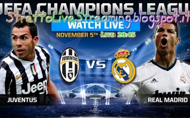 20 45 champions league juventus vs real madrid streaming champions juve