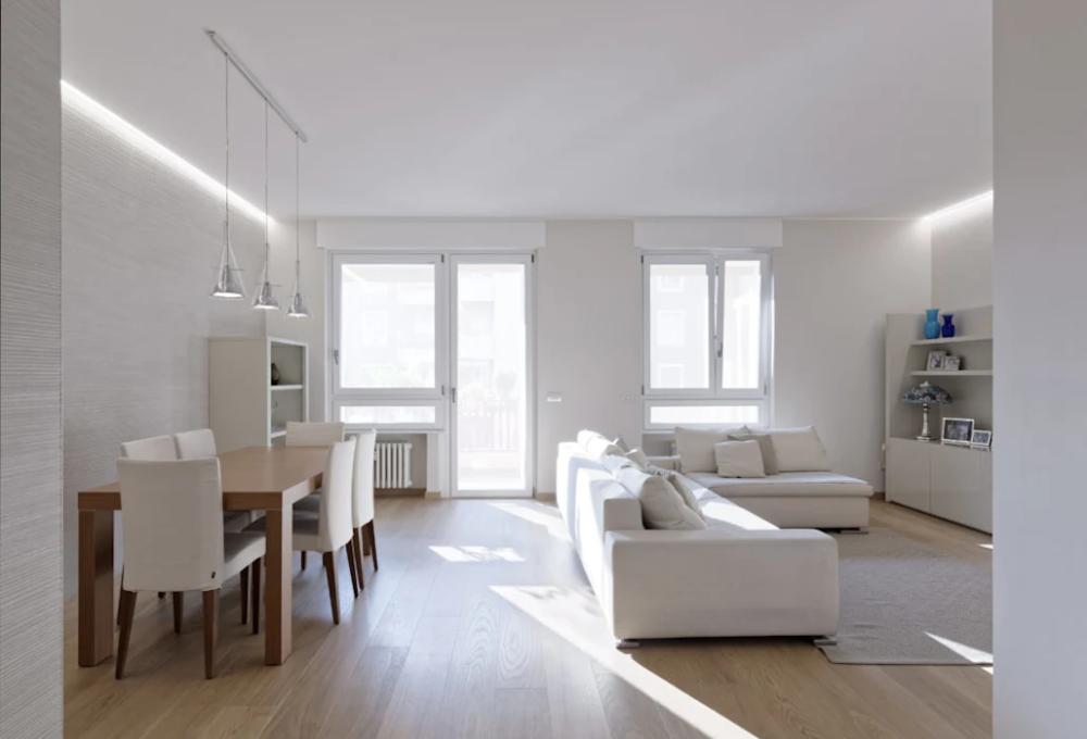 Beige is the new white soggiorno moderno di gruppotre ...