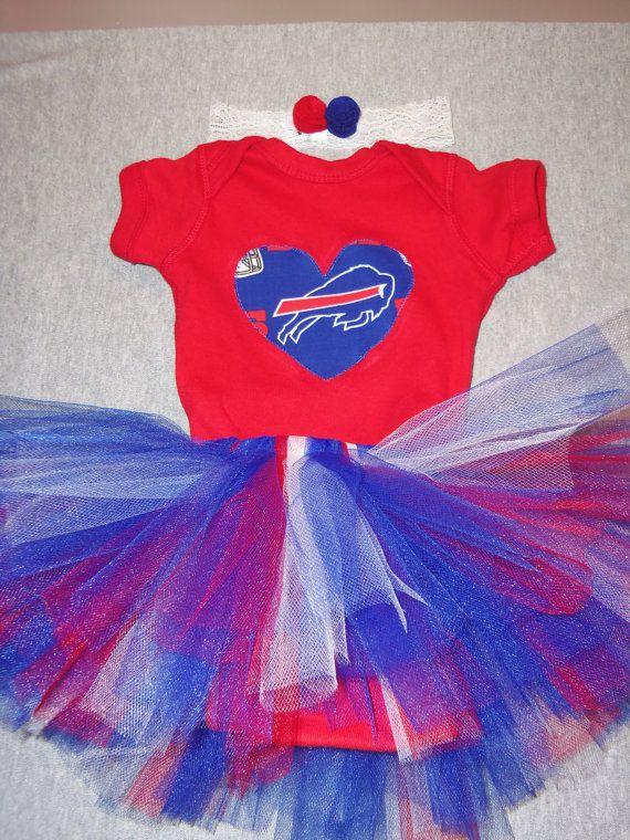 2a09cedf Bills Tutu Onesie Set Made from Buffalo Bills Fabric - Ready to Ship ...