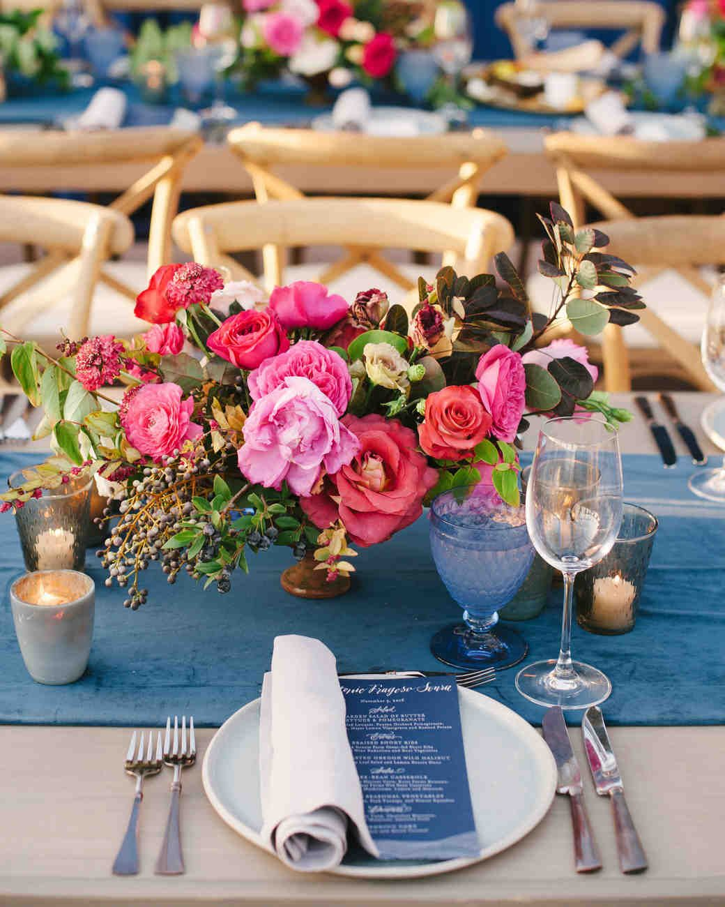 Jewel Tone Wedding Flowers: 25 Jewel-Toned Wedding Centerpieces Sure To Wow Your