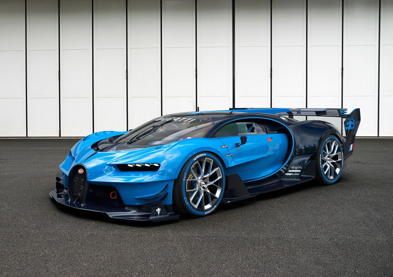 Bugatti gran turismo concepto 2016