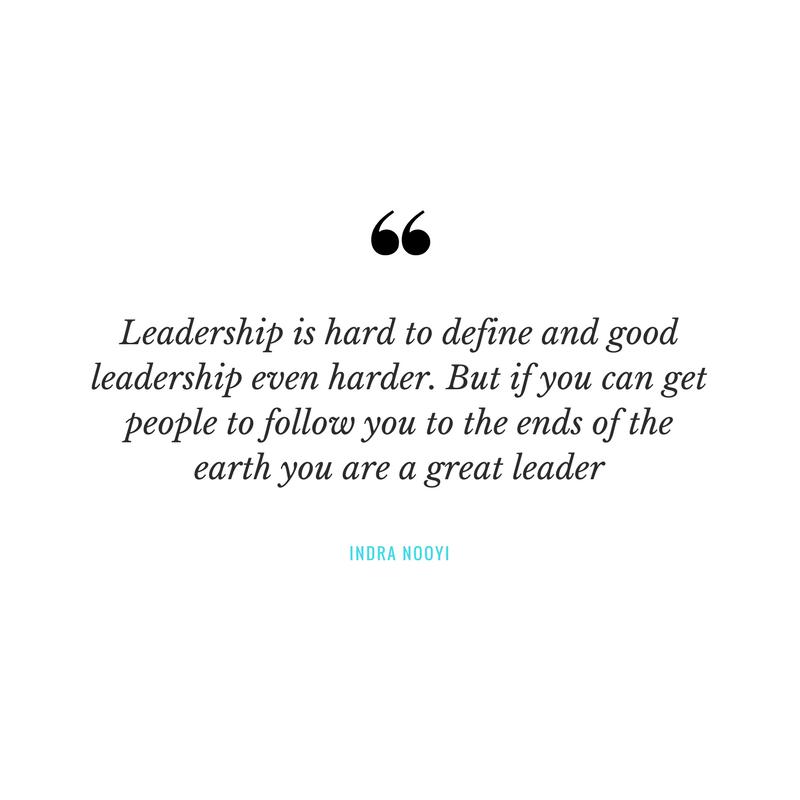 how do you define a good leader
