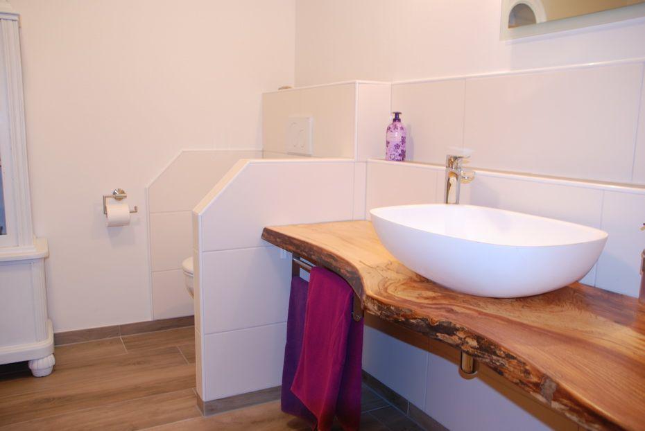 Das Badezimmer Dekorationen unserer Ferienwohnungen Pinterest