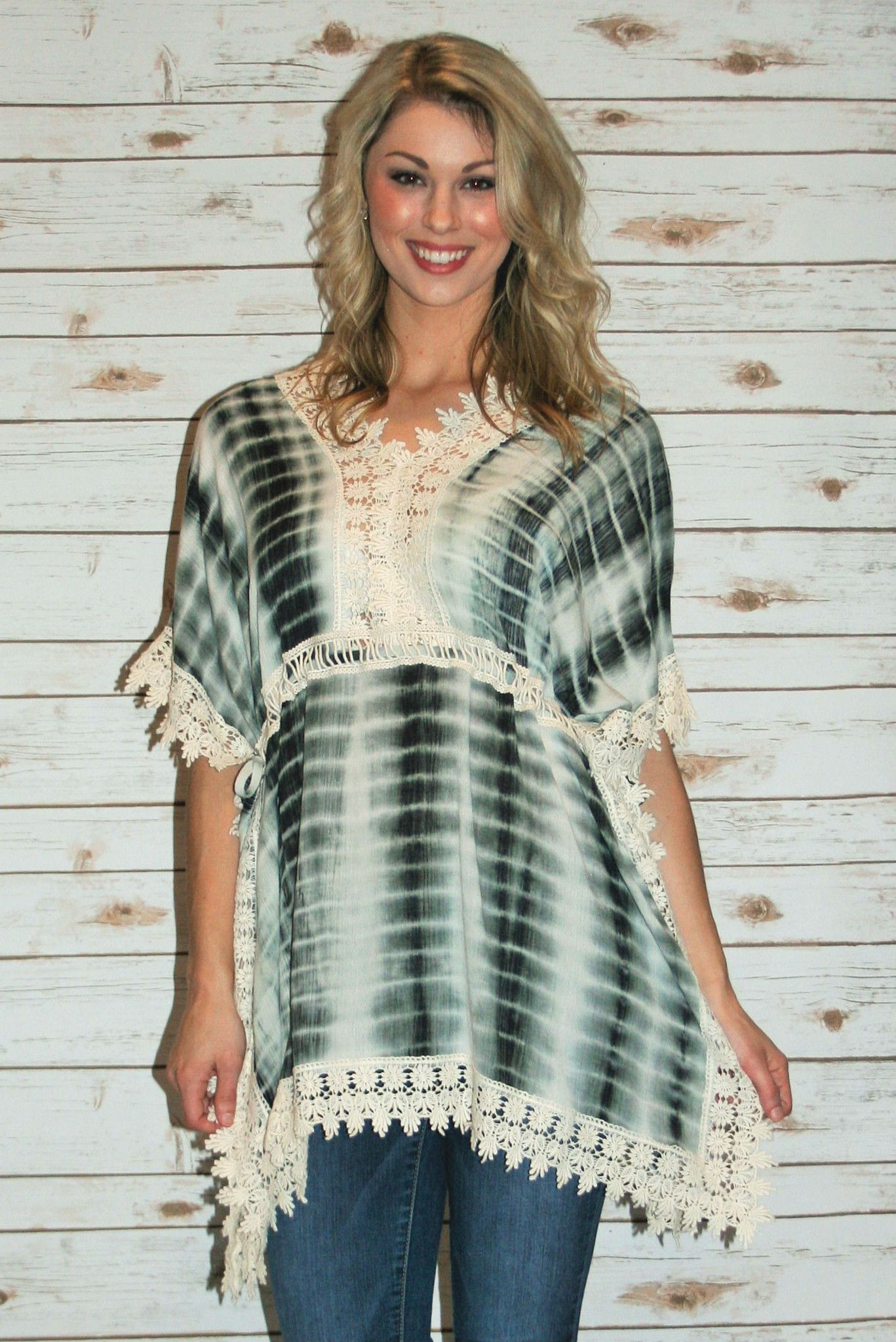 Hannah's Tie Dye Kimono Tunic