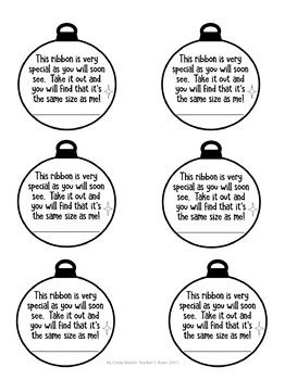 Christmas Ornament Poem (to put on an ornament