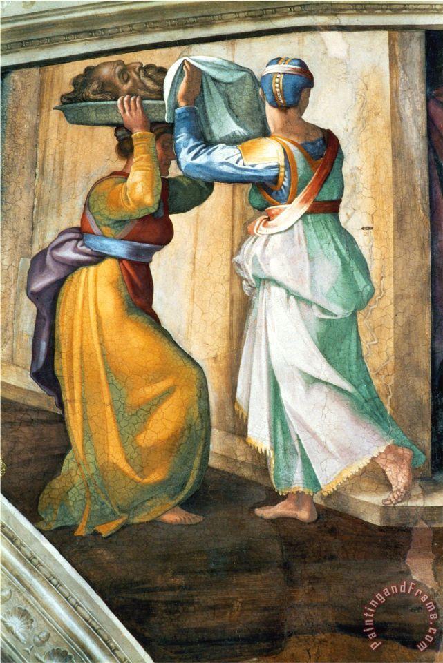 Michelangelo Buonarroti The Sistine Chapel Ceiling Frescos