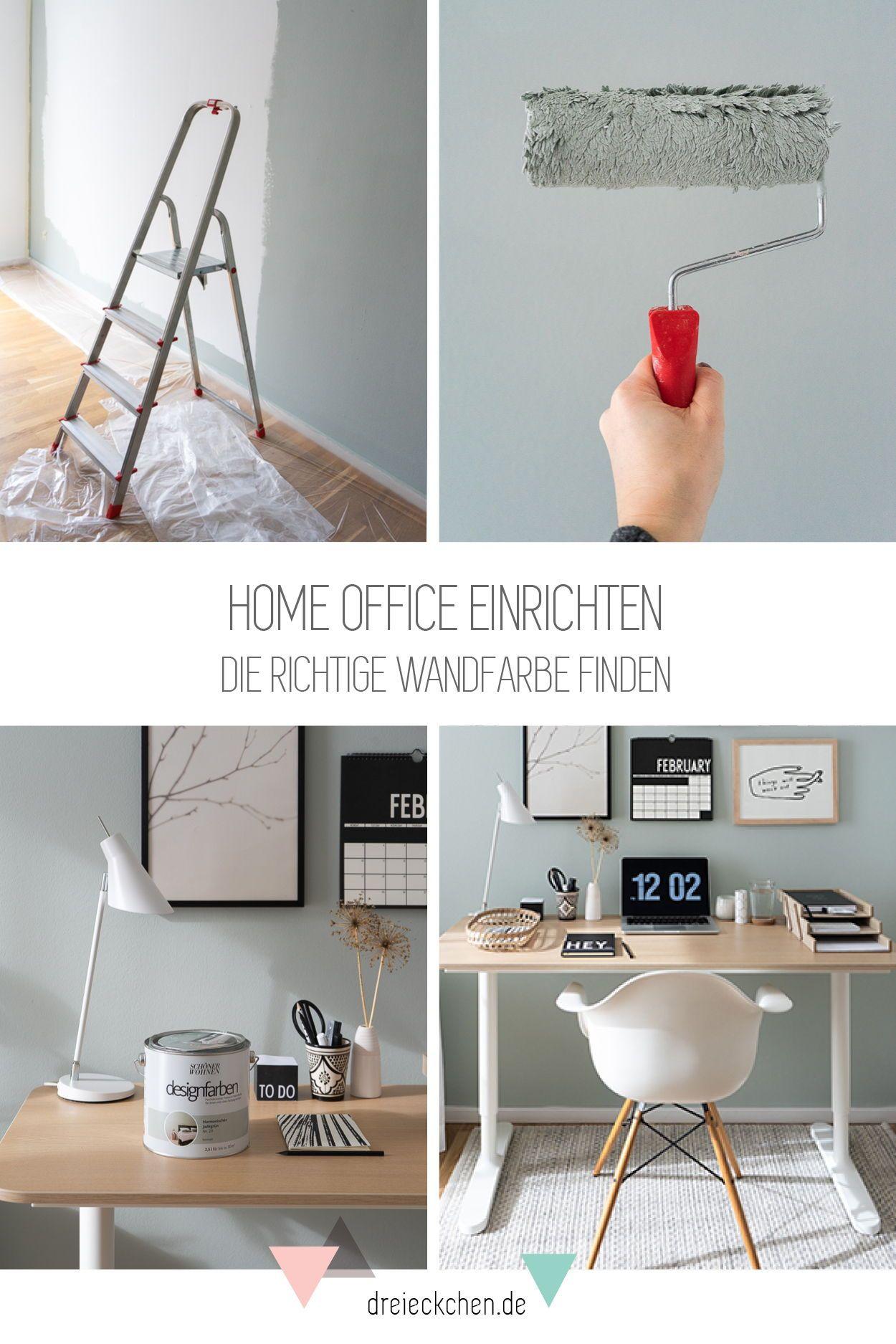 Arbeitszimmer Einrichten Ideen Fur Das Buro Zuhause Blog Dreieckchen In 2021 Home Office Einrichten Arbeitszimmer Einrichten Home Office