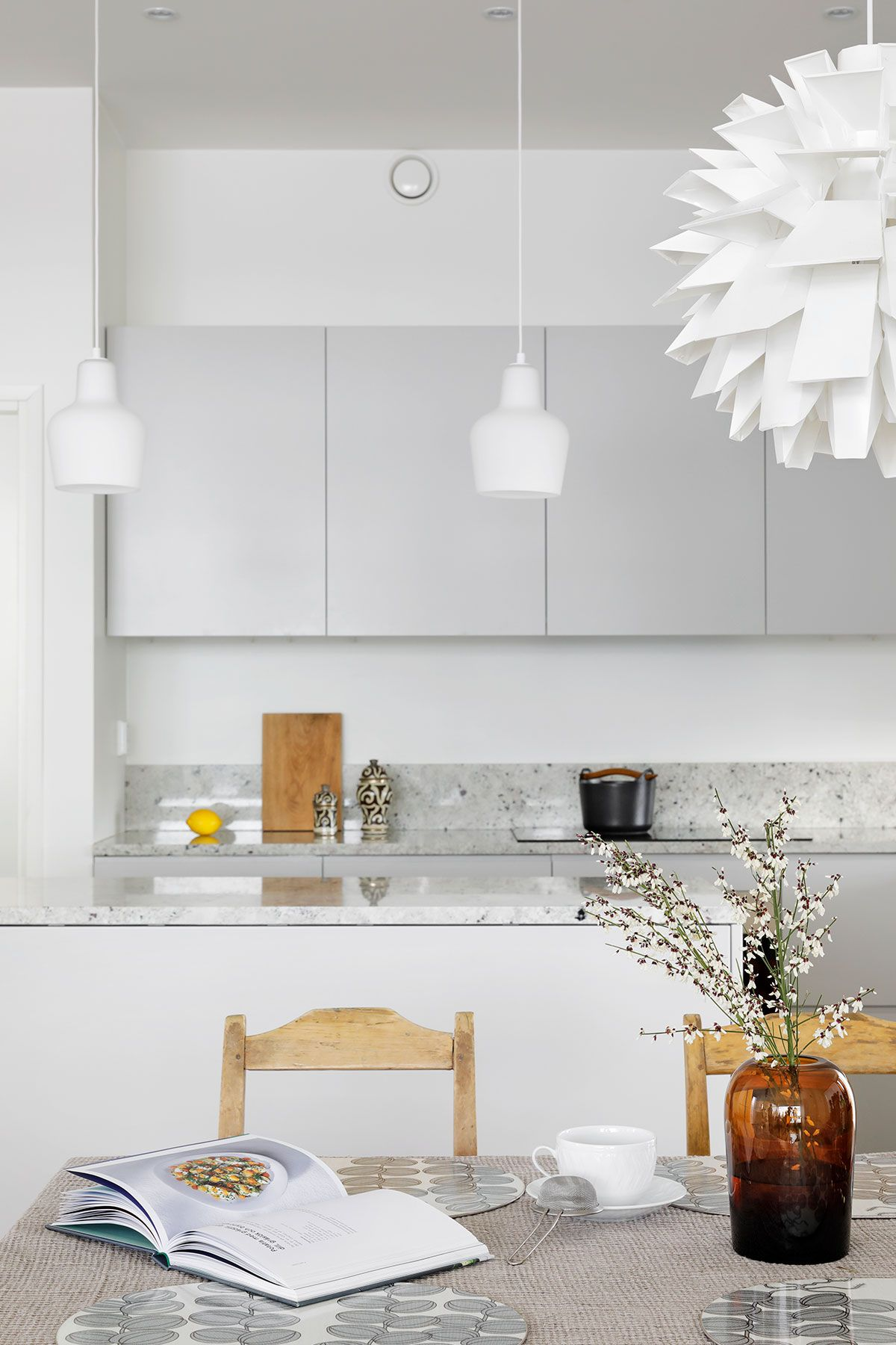 A S Helsingo Kitchens Samso In Feather Grey Our Kitchens Are Designed To Fit Ikea Metod And Faktum Cabinet Frames Kitchen Finishes Interior Decor