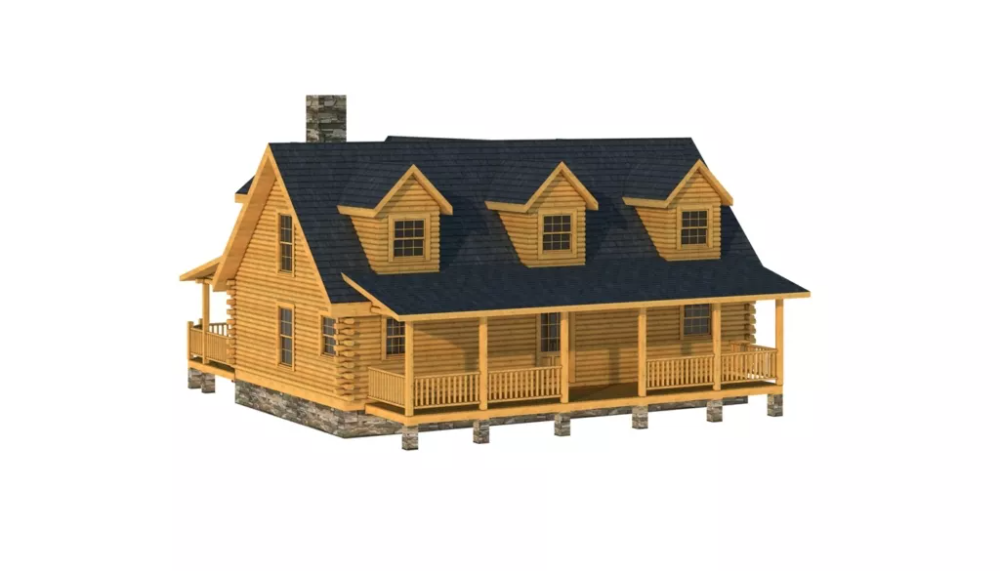 Cabarrus Plans & Information Southland Log Homes in