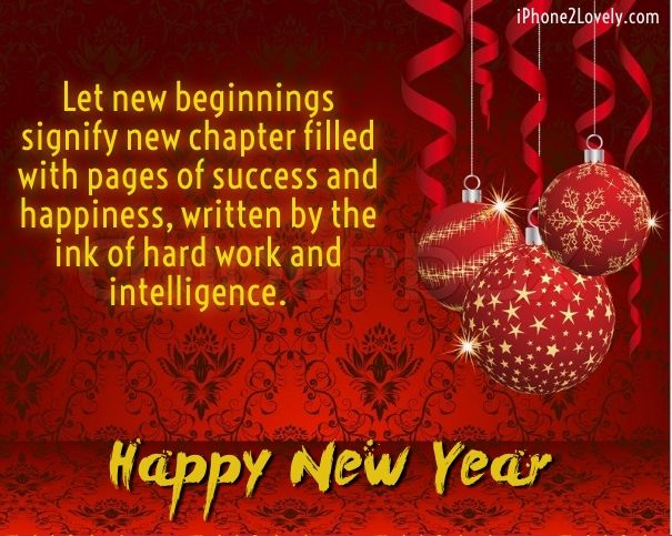 business new year greetings sample